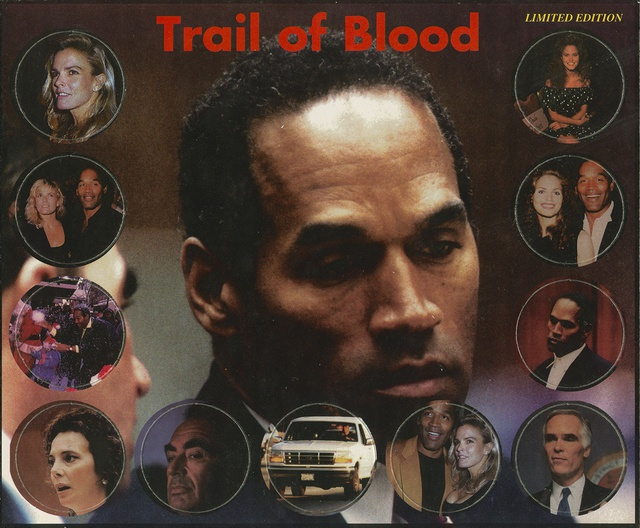 Trail of Blood, 2014 Die-cut cardboard POGS, full card, intact